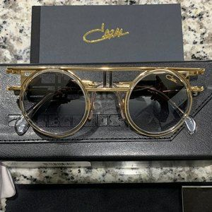 NEW Authentic Cazal 668 Limited Edition Clear Gold